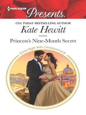 cover image of Princess's Nine-Month Secret
