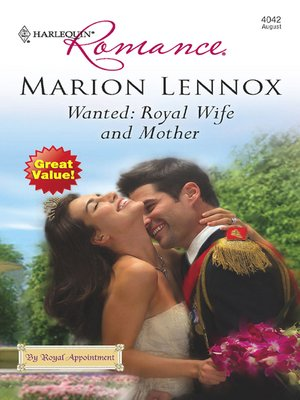 cover image of Wanted: Royal Wife and Mother
