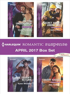 cover image of Harlequin Romantic Suspense April 2017 Box Set