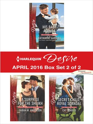 cover image of Harlequin Desire April 2016, Box Set 2 of 2