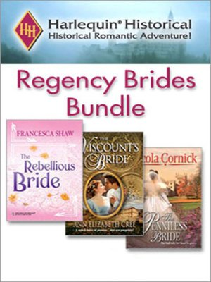 cover image of Regency Brides Bundle
