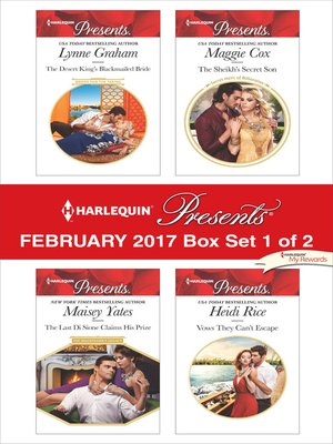 cover image of Harlequin Presents February 2017, Box Set 1 of 2