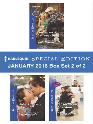 cover image of Harlequin Special Edition January 2016--Box Set 2 of 2