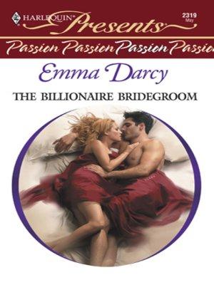 cover image of Billionaire Bridegroom