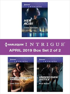 cover image of Harlequin Intrigue April 2018, Box Set 2 of 2
