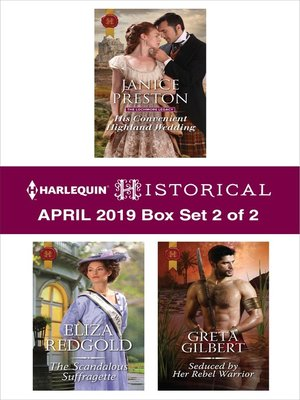 cover image of Harlequin Historical April 2019--Box Set 2 of 2