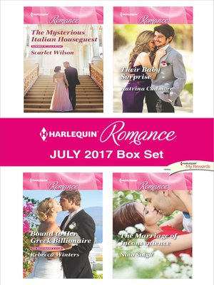 cover image of Harlequin Romance July 2017 Box Set
