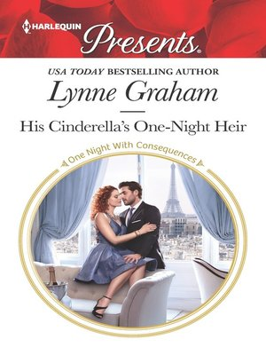 cover image of His Cinderella's One-Night Heir