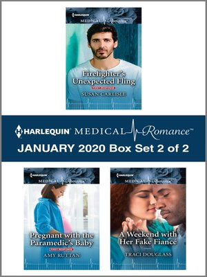 cover image of Harlequin Medical Romance January 2020--Box Set 2 of 2