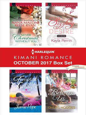 cover image of Harlequin Kimani Romance October 2017 Box Set
