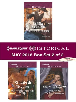 cover image of Harlequin Historical May 2016, Box Set 2 of 2