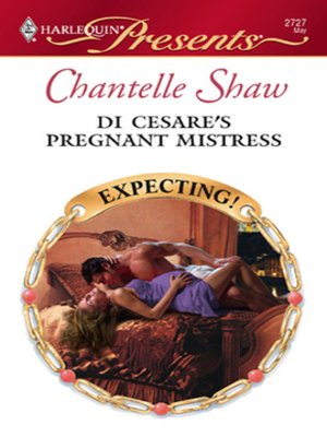 cover image of Di Cesare's Pregnant Mistress