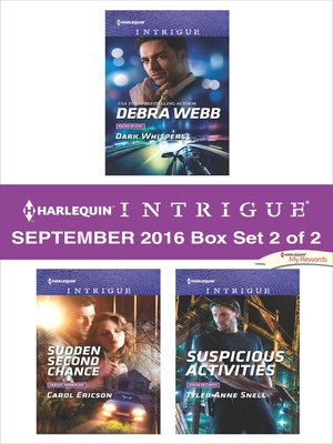 cover image of Harlequin Intrigue September 2016, Box Set 2 of 2