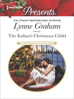 cover image of The Italian's Christmas Child--A Classic Christmas Romance