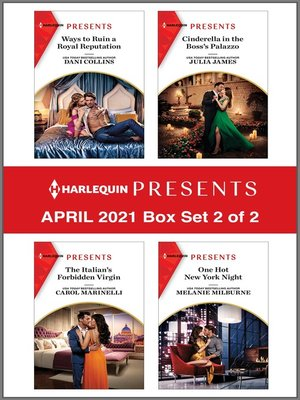 cover image of Harlequin Presents--April 2021--Box Set 2 of 2