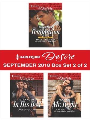 cover image of Harlequin Desire September 2018--Box Set 2 of 2