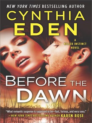 cover image of Before the Dawn--A Novel of Romantic Suspense