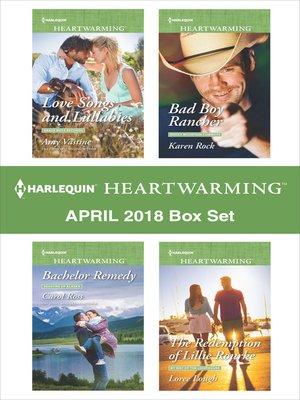 cover image of Harlequin Heartwarming April 2018 Box Set