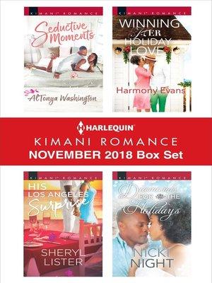 cover image of Harlequin Kimani Romance November 2018 Box Set