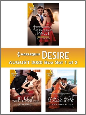 cover image of Harlequin Desire August 2020--Box 1 of 2