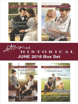 cover image of Love Inspired Historical June 2018 Box Set