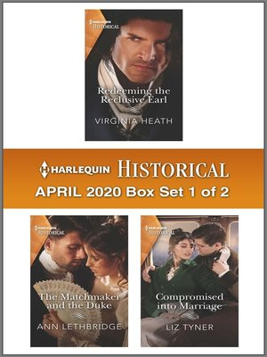 cover image of Harlequin Historical April 2020--Box Set 1 of 2