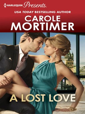 cover image of A LOST LOVE