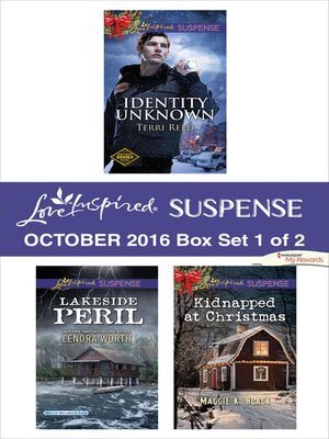 cover image of Harlequin Love Inspired Suspense October 2016, Box Set 1 of 2