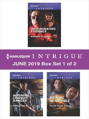 cover image of Harlequin Intrigue June 2019, Box Set 1 of 2