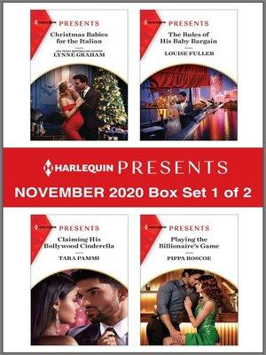 cover image of Harlequin Presents--November 2020--Box Set 1 of 2