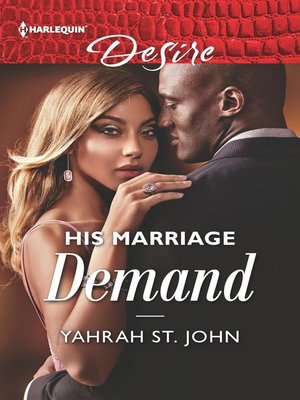 cover image of His Marriage Demand