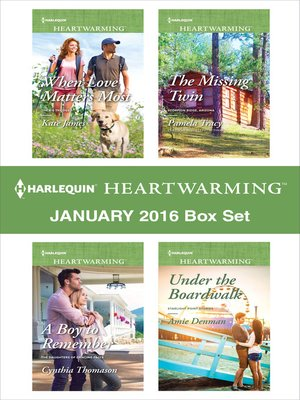 cover image of Harlequin Heartwarming January 2016 Box Set