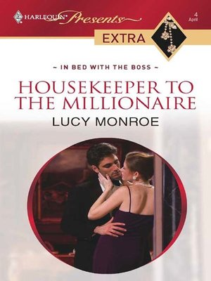 cover image of Housekeeper to the Millionaire