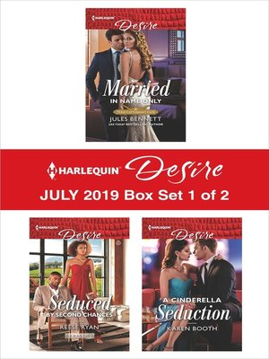 cover image of Harlequin Desire July 2019, Box Set 1 of 2
