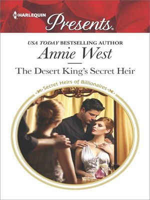 cover image of The Desert King's Secret Heir