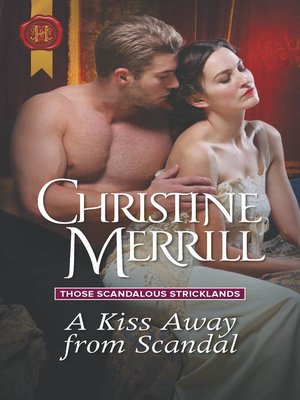 cover image of A Kiss Away from Scandal