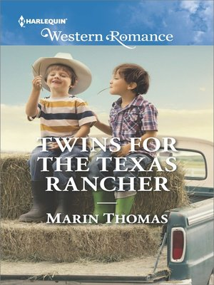 cover image of Twins for the Texas Rancher