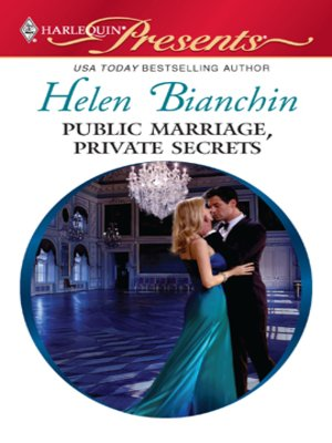cover image of Public Marriage, Private Secrets