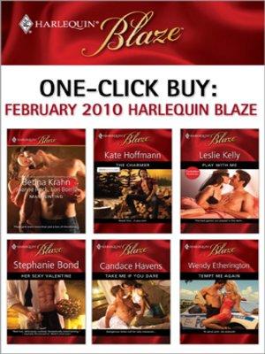 cover image of February 2010 Harlequin Blaze