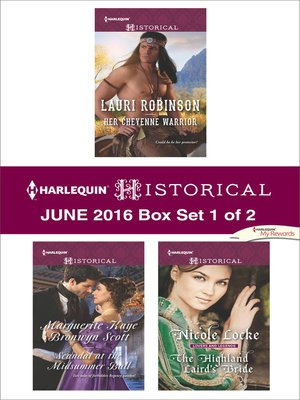 cover image of Harlequin Historical June 2016, Box Set 1 of 2