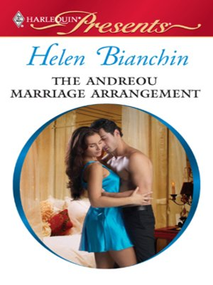 cover image of The Andreou Marriage Arrangement