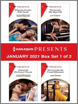 cover image of Harlequin Presents--January 2021--Box Set 1 of 2