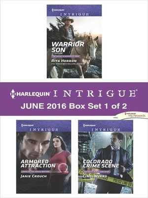 cover image of Harlequin Intrigue June 2016, Box Set 1 of 2