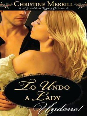 cover image of To Undo a Lady