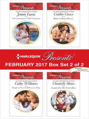 cover image of Harlequin Presents February, Box Set 2 of 2