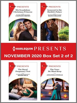 cover image of Harlequin Presents--November 2020--Box Set 2 of 2