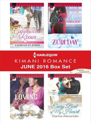 cover image of Harlequin Kimani Romance June 2016 Box Set