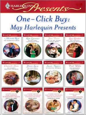 cover image of One-Click Buy: May Harlequin Presents