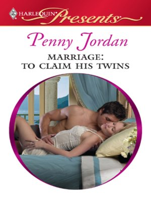 cover image of Marriage: To Claim His Twins