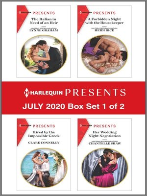 cover image of Harlequin Presents--July 2020--Box Set 1 of 2